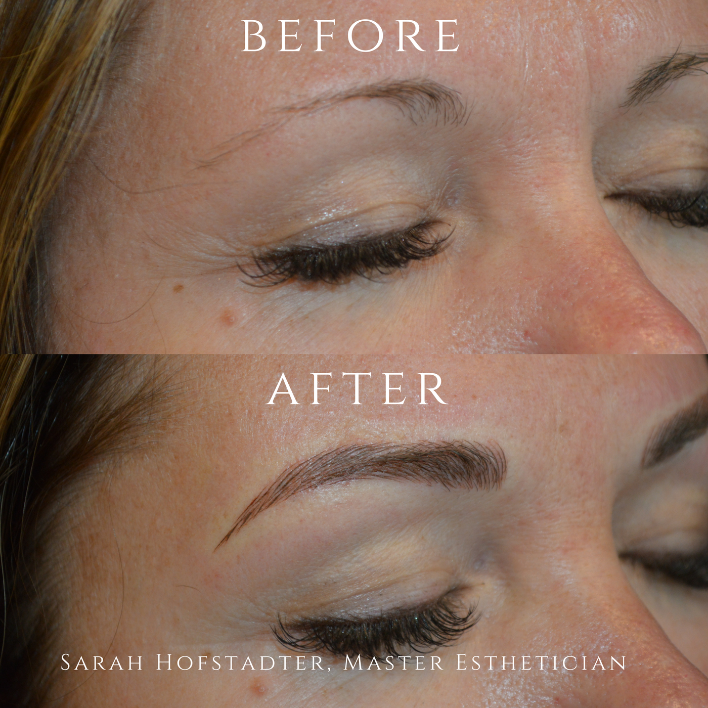 Microblading Befor and After